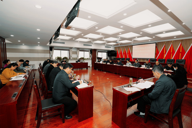 市政协党组理论学习中心组召开2021年第3次学习研讨(扩大)会议