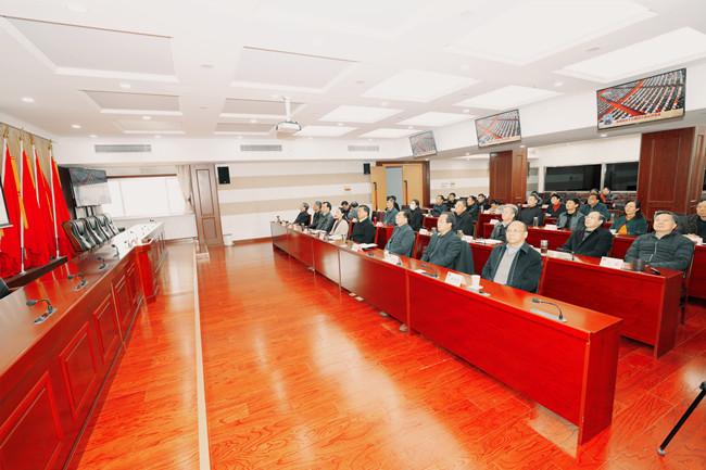 市政协机关组织收看全国政协十三届四次会议开幕会