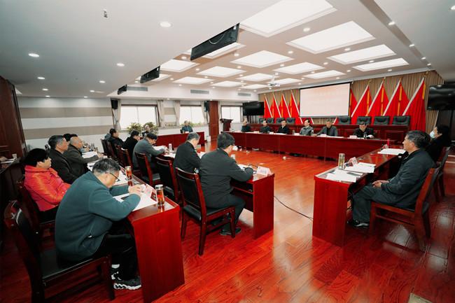 市政协党组理论学习中心组召开 2021年第4次学习研讨(扩大)会议