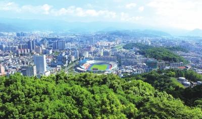 珠三角推进建设中国首个国家森林城市群