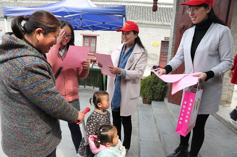 濉溪县妇联开展文明祭祀宣传活动