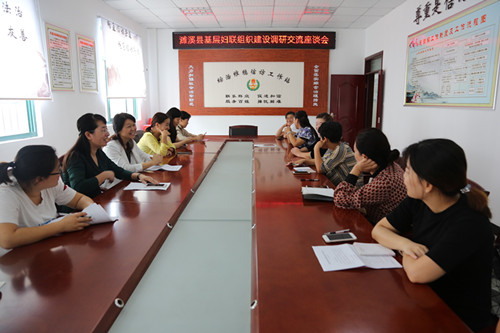 濉溪县妇联开展基层妇联组织建设调研活动